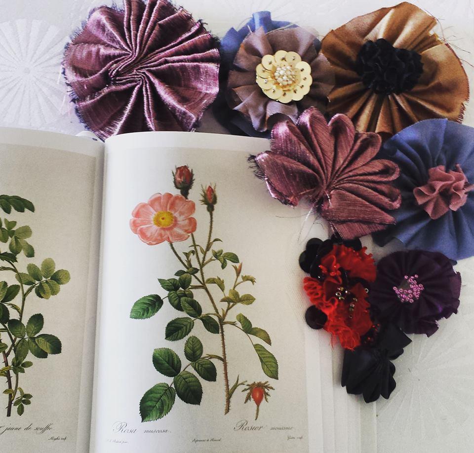 Inspiration fleurs de soie