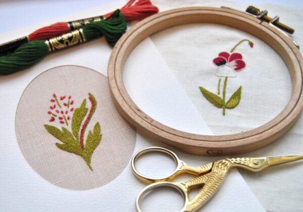 Atelier Peinture à l'aiguille