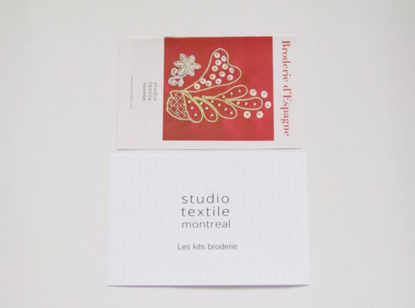 spanish embroidery booklet